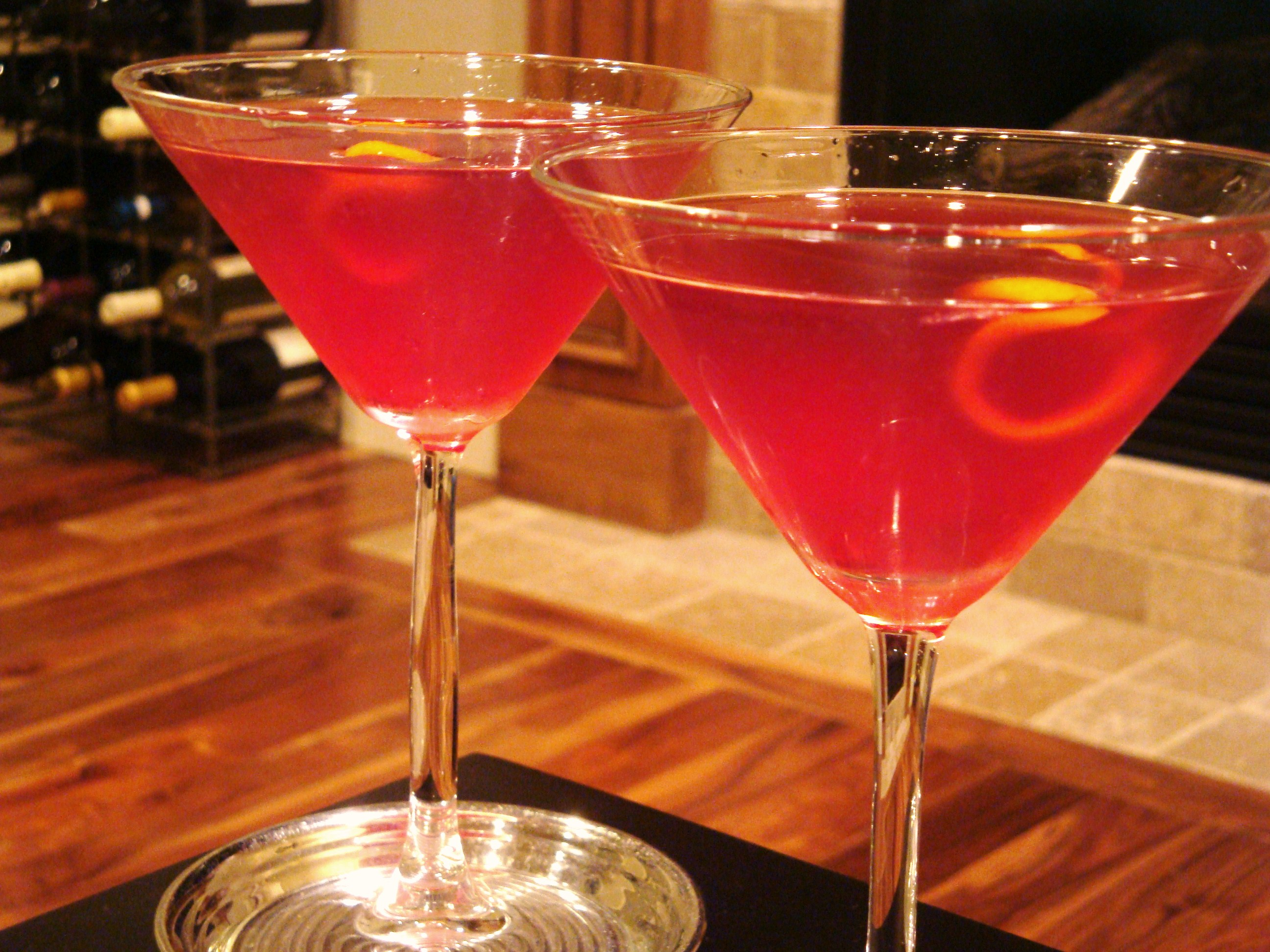 Raspberry bliss cocktails