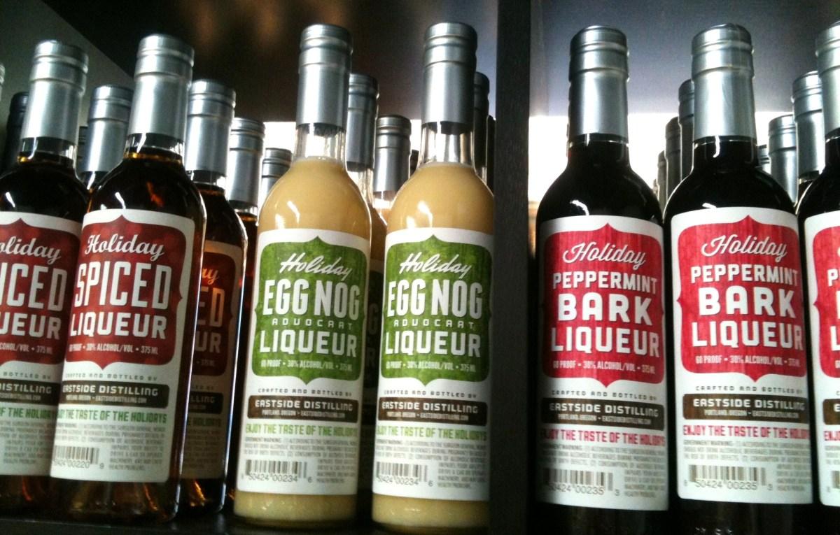 Holiday Liqueurs at Eastside Distillery