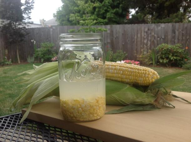 Corn infusion