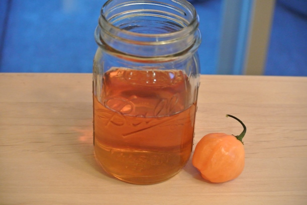 Habanero Honey Whiskey