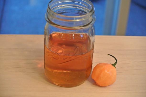 Habanero Honey Whiskey